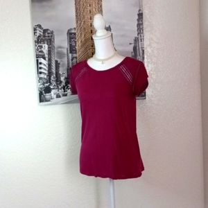 LOFT tshirt for women with lace size XS